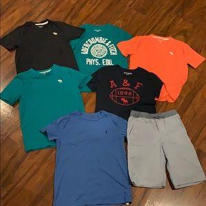 Abercrombie kids shirts and Polo shirt